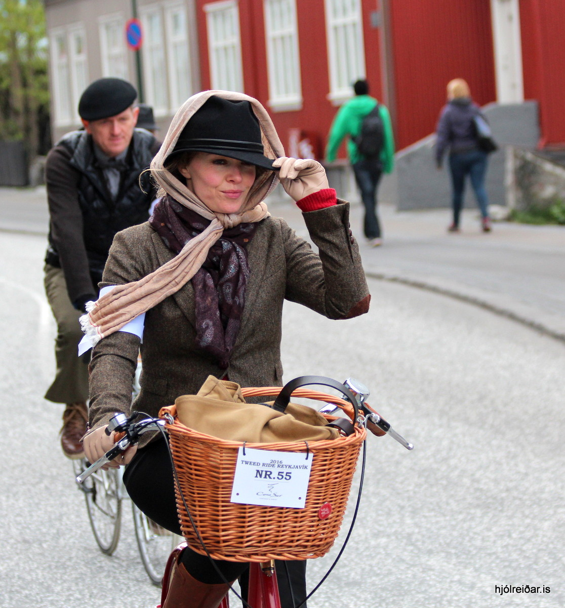 Tweed Ride Reykjavík 2016 Hverfisgata